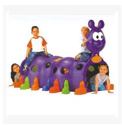 钻洞隧道 幼儿园游乐设备 毛毛虫钻洞 玩具 儿童爬行隧道筒 加厚