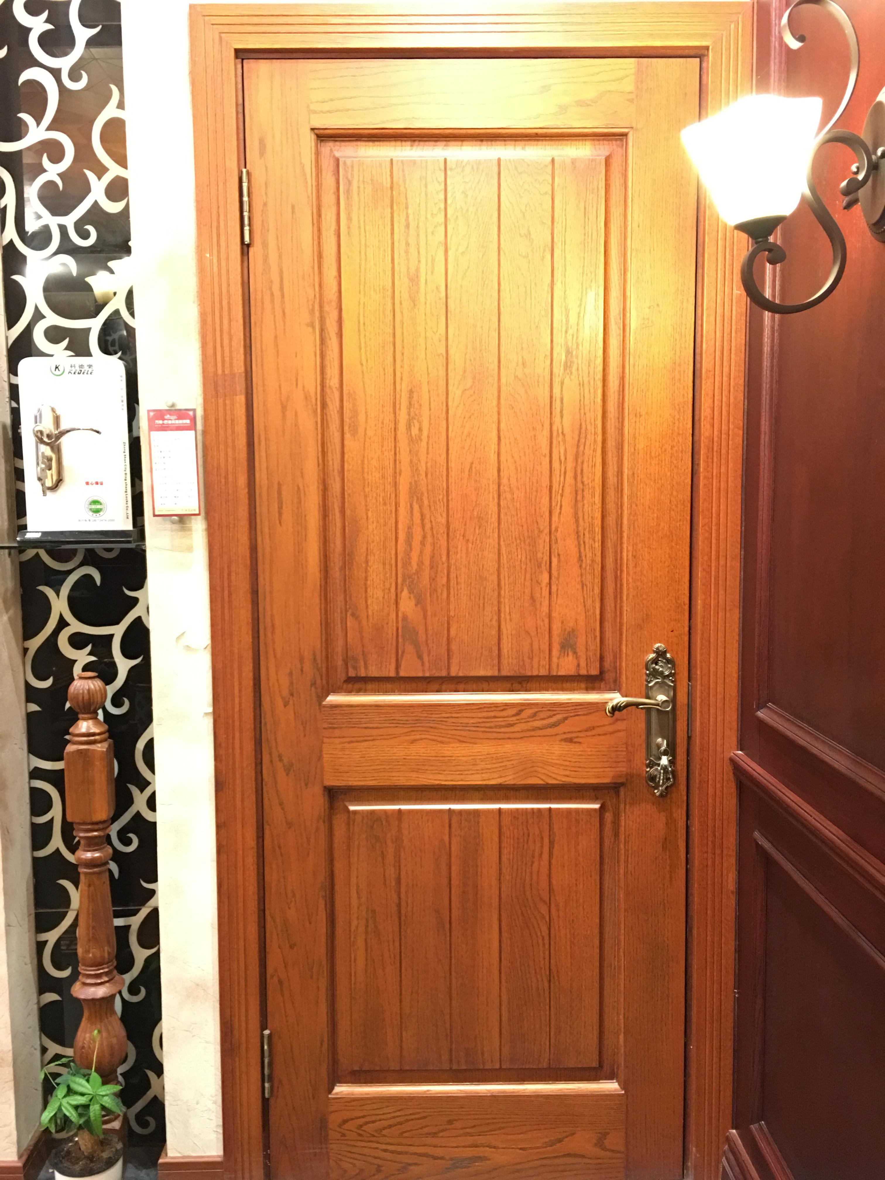 新中式 现代 简约大气款立体感十足卧室木门