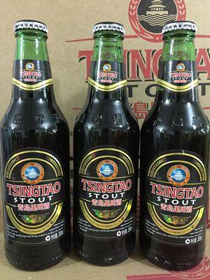 青岛啤酒黑啤图片