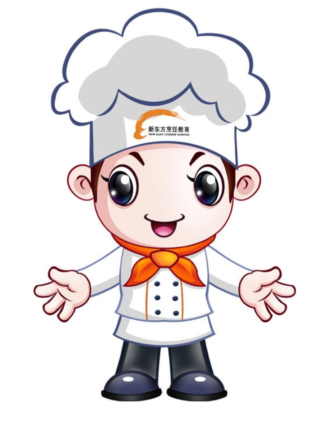 定做卡通人偶服装 定制人偶服 人物服装 厨师人偶