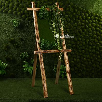 森系婚庆道具迎宾牌指引牌婚礼布置迎宾区创意迎宾木质指示牌批发
