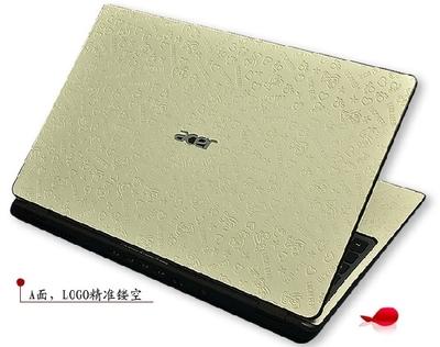 14寸笔记本电脑专用外壳保护贴膜卡通可爱