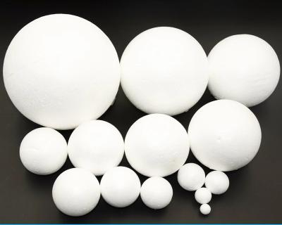 包邮泡沫球圆球 白色实心保丽龙球 婚庆插花手工diy大小保利龙球