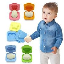 6Pcs Boiled Egg Mold Bento Maker For Baby Food Grade Kitchen
