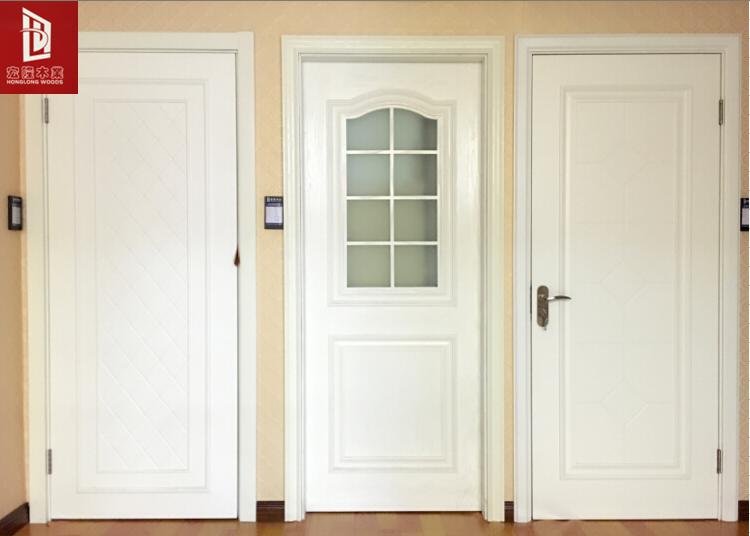 欧式白色实木复合门室内卧室厨房移门玻璃门厂家直销