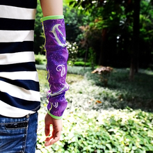 Beijing forest outdoor summer driving arm sleeve anti-UV sleeves quick-drying breathable decorative gloves