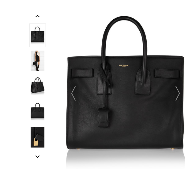 �����ޕr5�ۣ�SAINT LAURENT Sac De Jour С̖Ƥ�������