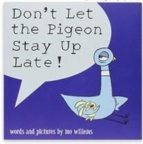 Don't Let the Pigeon Stay Up Late! 英文读物绘本