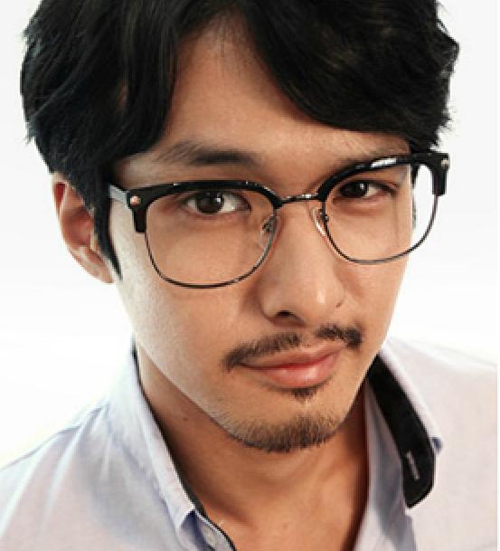 下半框眼镜镜框 男