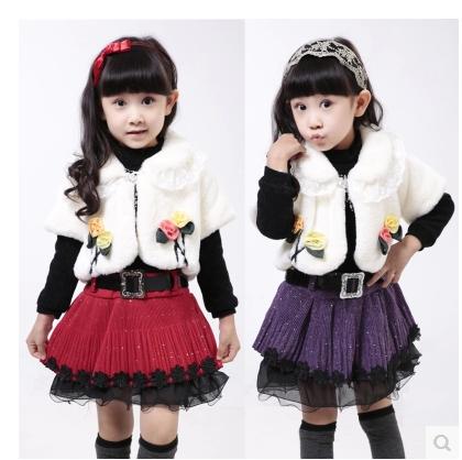 子套装1儿童装小女孩5冬季3-4岁2夏天6衣服4秋款
