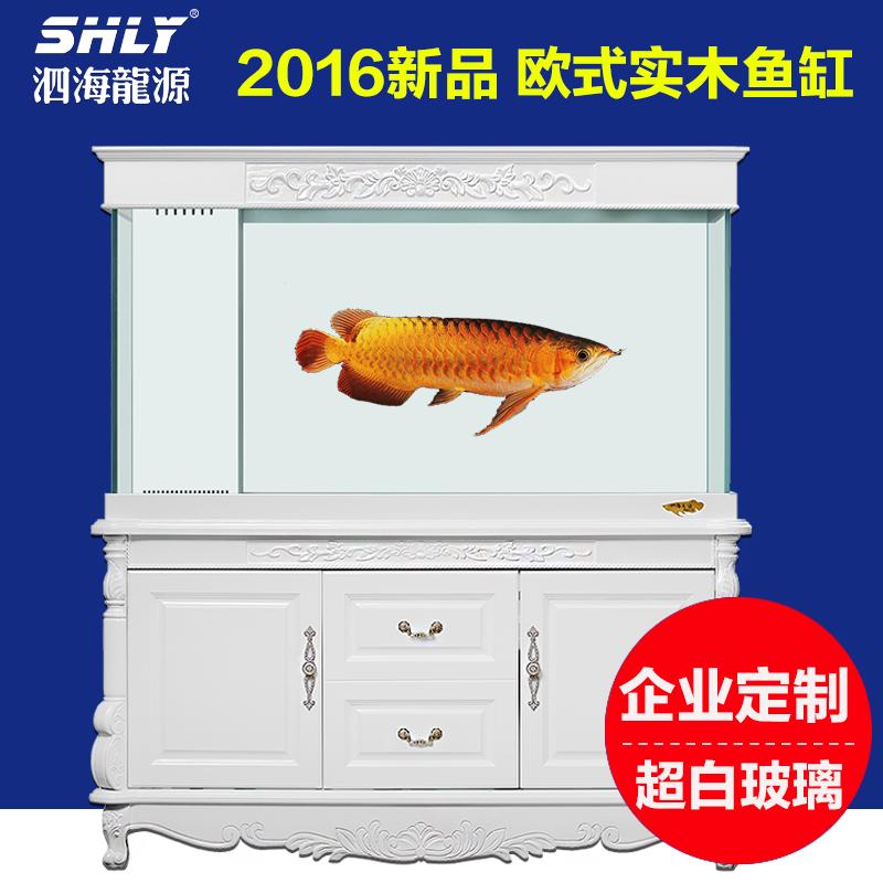 龙鱼缸 生态水族箱底过滤图片