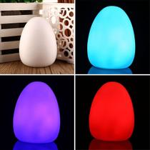 led color changing colorful egg shaped home room decor baby