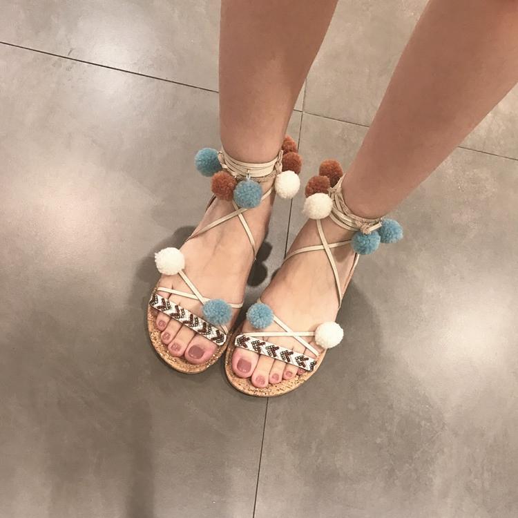 Купить из Китая Римские сандалии через интернет магазин internetvitrina.ru - посредник таобао на русском языке