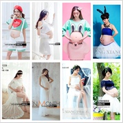 According to the taste of pregnancy pregnant women clothing photography studio mummy theme 2017 new family photos photo pictures of clothing for pregnant women