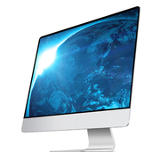 Ultra-thin style all-in-one computer, 20-27 inch i3i5i7 quad core display game, desktop mainframe