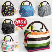 Oxford new waterproof canvas tote bag mummy Lunch Bag Handbag shopping bag ladies small cloth