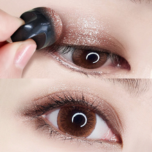Carslan lazy eye shadow ins super flashing powder pearl light waterproof two color parity small crowd color makeup