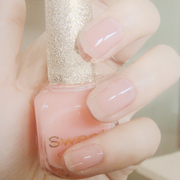 Sweet Color non-toxic nude nail polish South Korea does not fade transparent nail polish bare powder jelly color