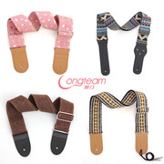 Folk guitar strap characteristic electric guitar strap cotton weaving national style guitar