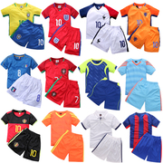 Children's football suits, men's and women's wear, French team's juvenile games, uniforms, suits, custom marks, school performances, clothing