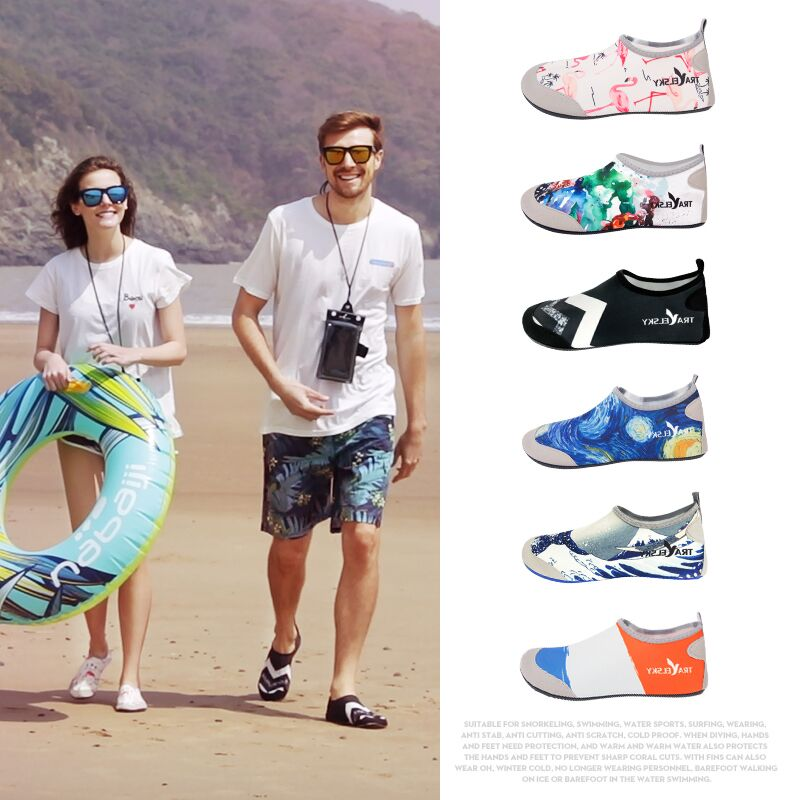 cheap Purchase china agnet Men and women barefoot soft shoes