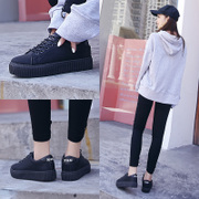 2017 new shoes shoes autumn Korean students Harajuku wind ulzzang canvas shoes all-match casual shoes
