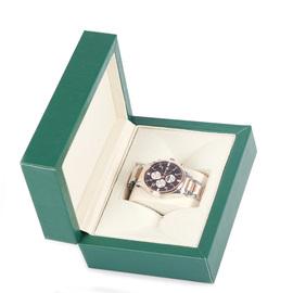 梦萝皮质首饰盒单只手表收纳盒手表盒pu手表展示盒手表礼盒包装盒