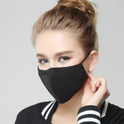 Anti-Fog haze pm2.5 Masks dust breathable male lady winter windproof cold warm cotton riding can be cleaned