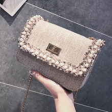 fairy small bag female 2018 new wave Summer new diagonal small fresh incense mini chain Messenger bag