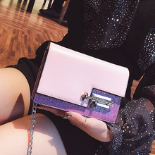 Summer small bag female 2018 new wave wild Korean version of the ins super fire girl fairy chain shoulder Messenger bag