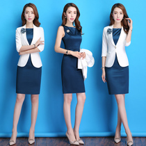 192abb66e51 2018 professional wear women s suit fashion suit dress ol temperament  overalls female spring and summer dress