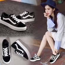 2018 new Korean version of the wild spring student white breathable board shoes summer Harajuku ulzzang canvas shoes