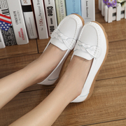 Autumn and winter a white shoe soft bottom shoes size Dichotomanthes bottom nurse mother pregnant women shoes leisure shoes