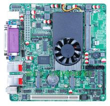 Intel ATOM D525 mainboard /6COM Gigabit soft router motherboard DC12V