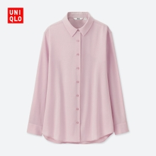Self provided fancy women's shirt (long sleeved) 400520 UNIQLO UNIQLO