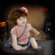 Children's photography 2017 new studio one hundred days baby one full year of life theme photo photo dress art van