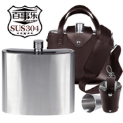 To 2500 ml of 5 pounds loaded 70 silk thickening of 304 stainless steel flagon for outdoor use in portable portable kettle
