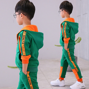 Kids Boys autumn suit 2017 new spring and autumn in the children's children two sets of Korean sportswear tide clothing