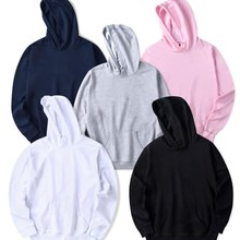 Plain Hoodie Big Size Multicolor Men HoodieS 2019 SweatSHirt