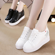 White shoes in autumn 2017 new Korean women sports shoes soled shoes' Muffin