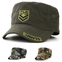 United States outdoor commando Camo Cap with a mens flat-topped hat baseball cap casual Korean version of tides in autumn and winter cap