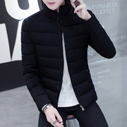 A man down padded coat winter winter coat collar young male Korean thickened short slim jacket tide