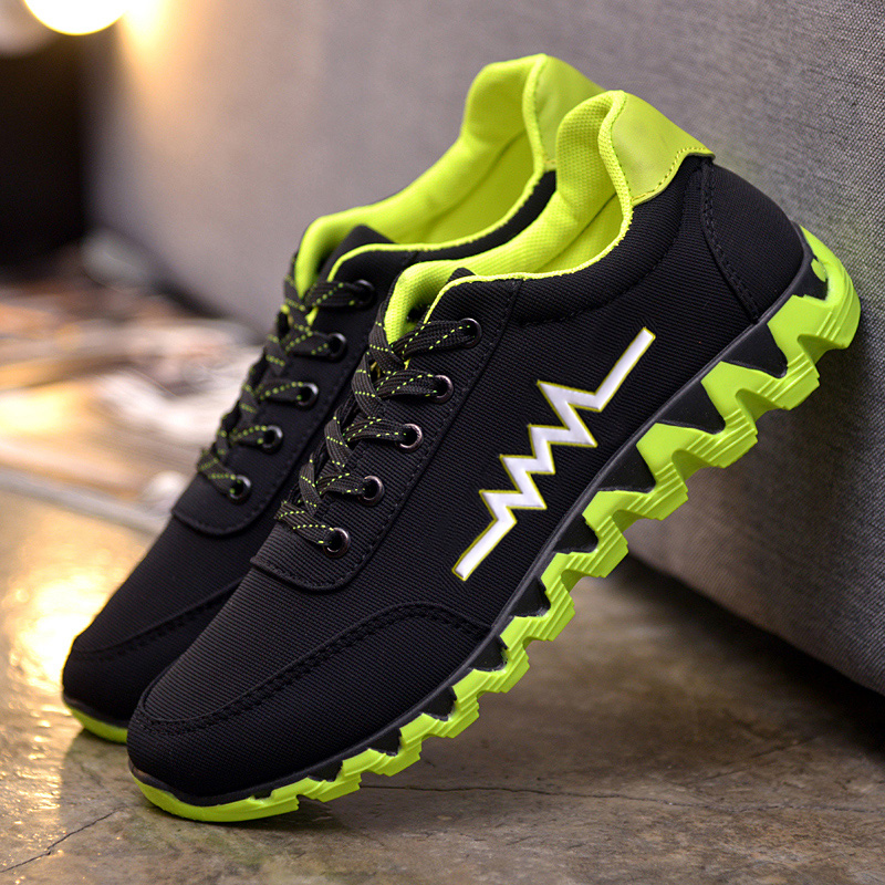 2017 new summer sport shoes all-match student sport shoes breathable shoes tide male Korean youth