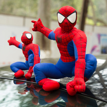 Auto accessories car accessories decorative roof doll spider man character doll car funny external ornaments