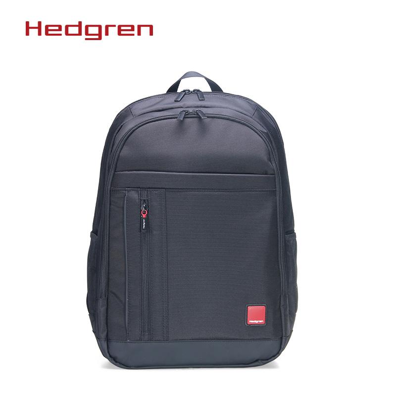 Hedgren/海格林红标双肩包男士商务包旅行出差双肩包电脑包HRDT06