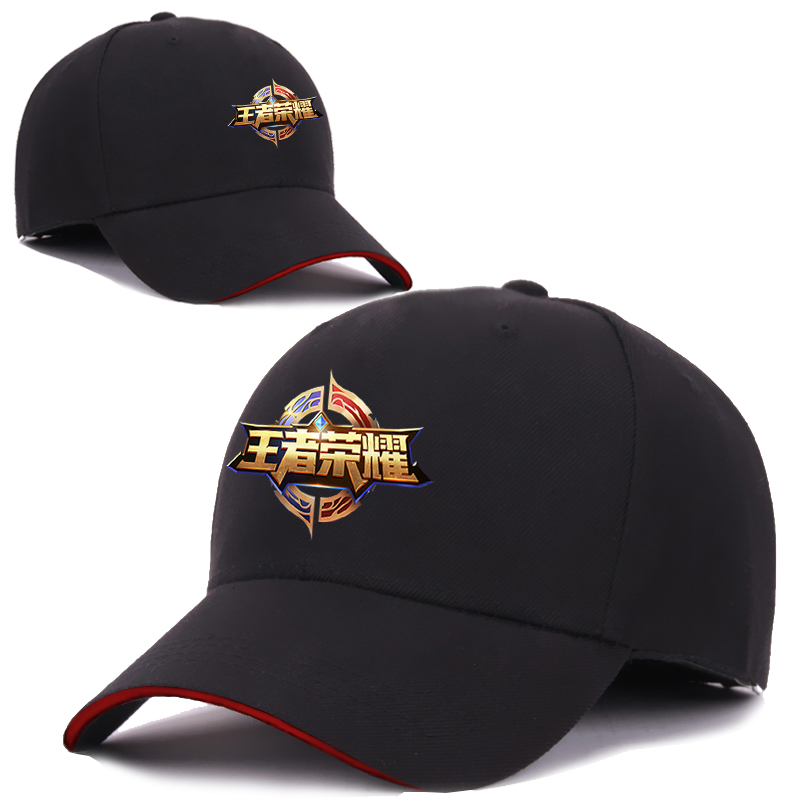 King glory baseball game peripherals hat sun hat Li Bai Hou Yi and adjustable Mobile Games peaked cap