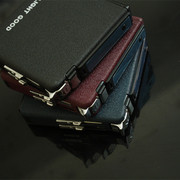 Automatic cigarette case with metal windproof lighter 20 sticks or automatic smoke-proof pressure of men's gifts