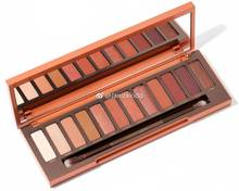 URBAN DECAY naked heat UD super nice warm orange brown 12 color palette