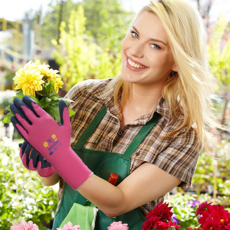 园艺手套仙人掌防刺防水防扎防滑耐磨加厚园林劳保工作种花护手