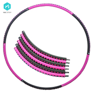 Hula hoop thin waist slimming abdomen removable ring adult female fitness slimming soft sponge heavier hula hoop